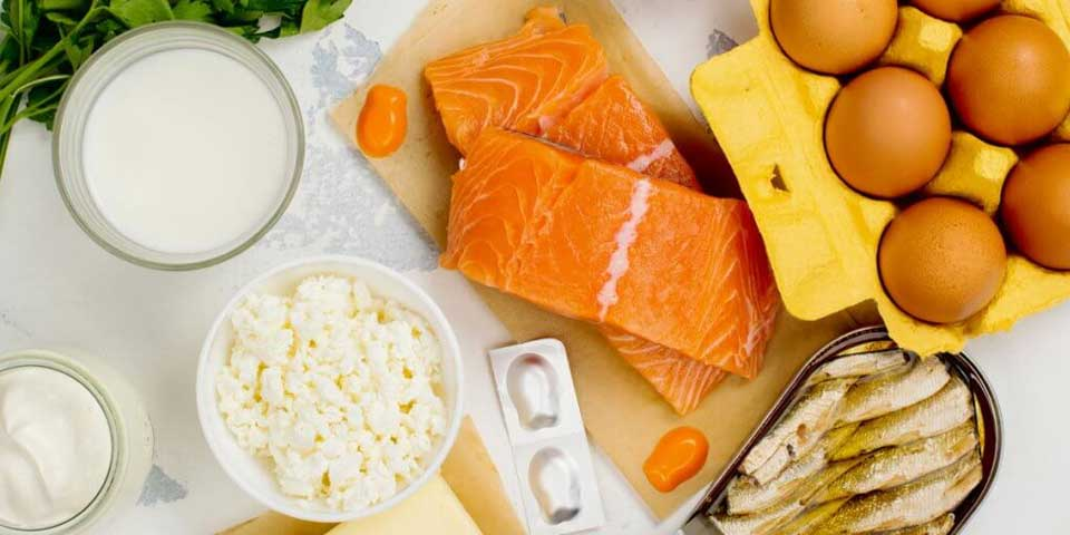 Vitamin D foods that are good for dandruff