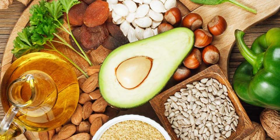 Vitamin E foods that are good for dandruff