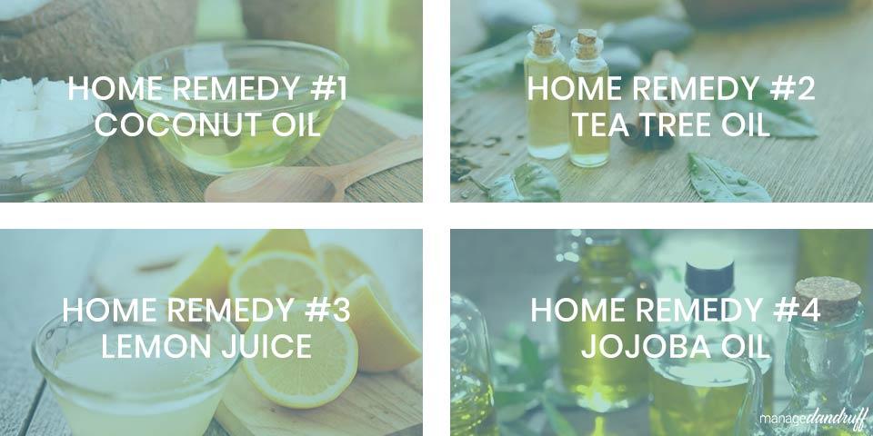 4 anti-dandruff home remedies