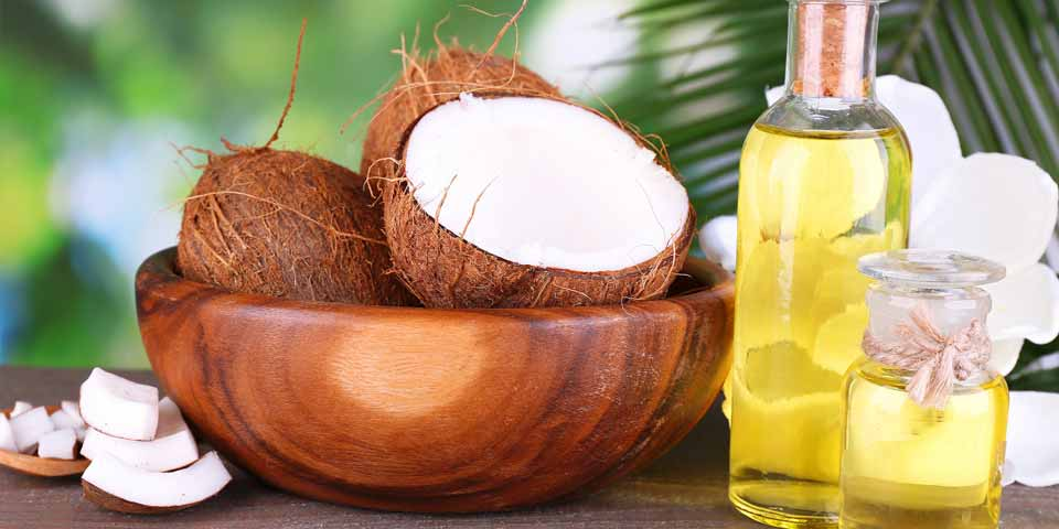 Coconut Oil and Jojoba Oil for Dandruff
