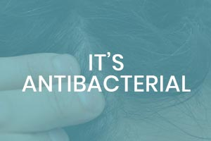 its antibacterial