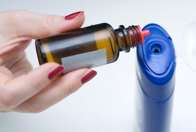 tea tree oil in shampoo
